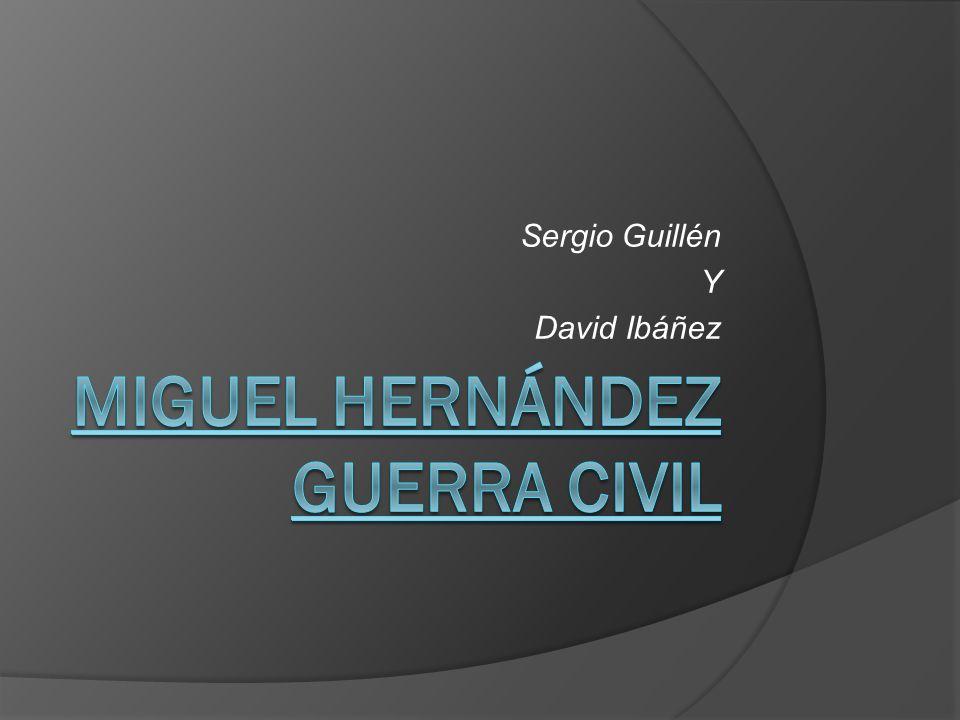 Sergio Guillén Y David Ibáñez
