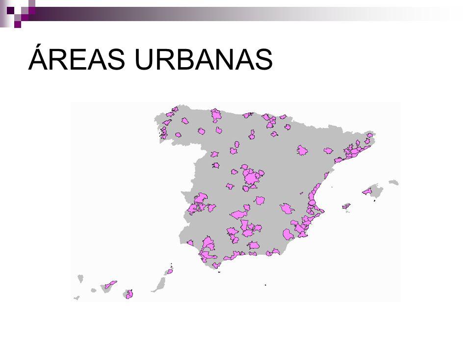 ÁREAS URBANAS