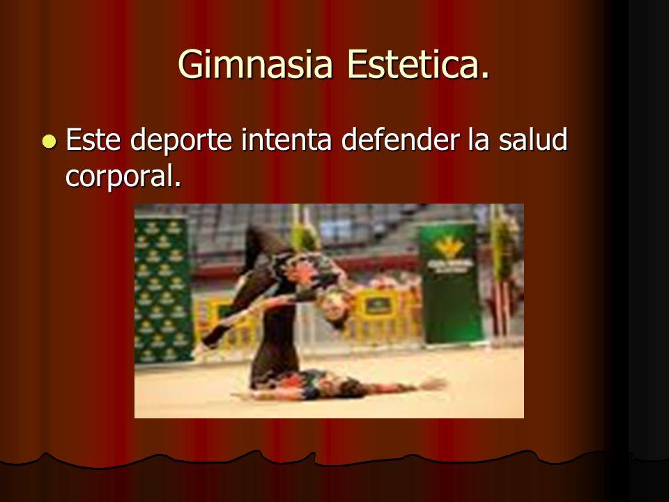 Gimnasia Estetica.En la Gimnasia Estetica se empieza a competir a partir de los 10 años.