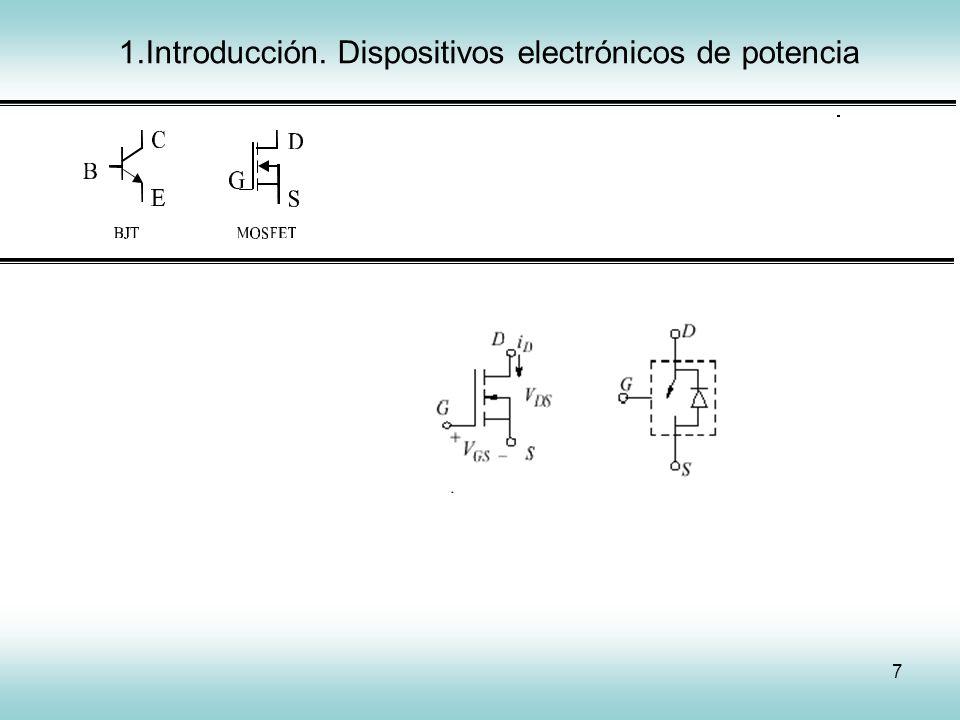 38 3.Convertidores electrónicos cc/cc Chopper directo.