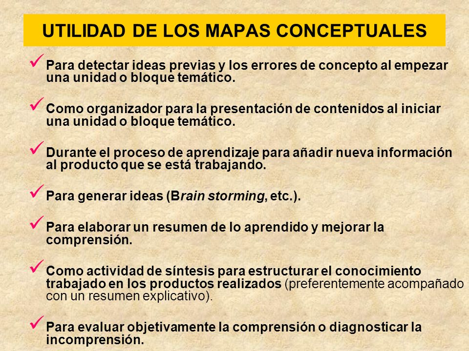 Cómo construir un mapa conceptual 1.