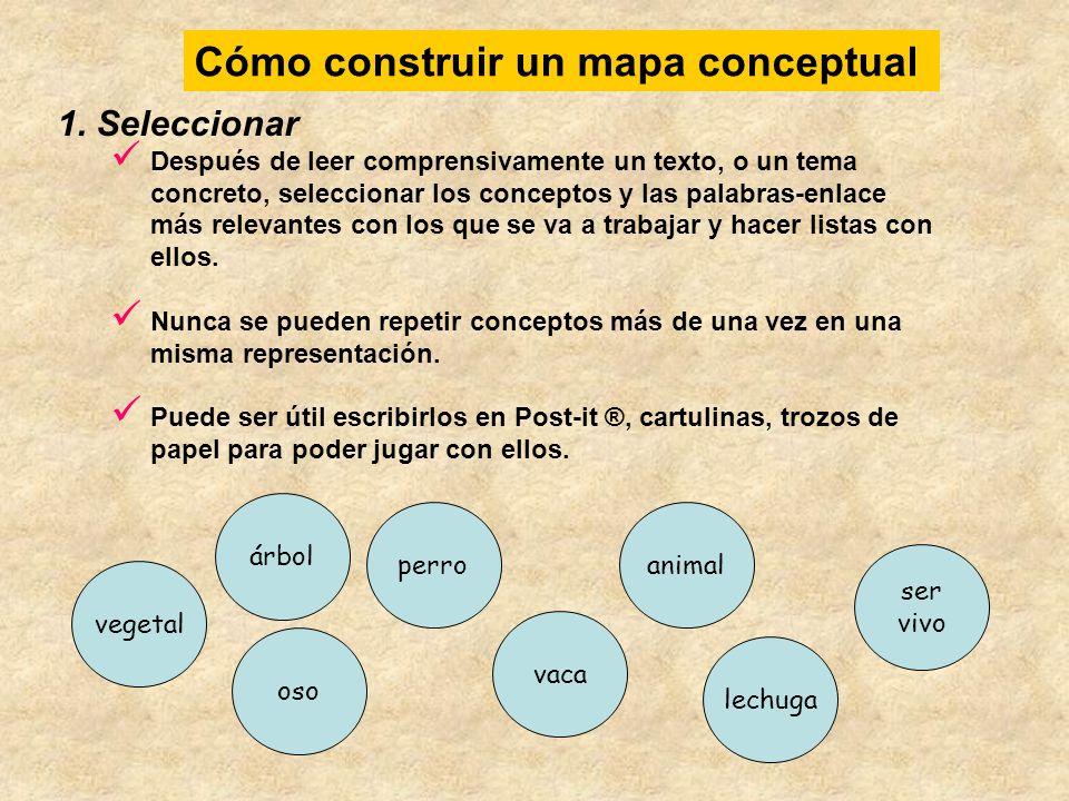 2.Agrupar Agrupar los conceptos cuya relación sea próxima.