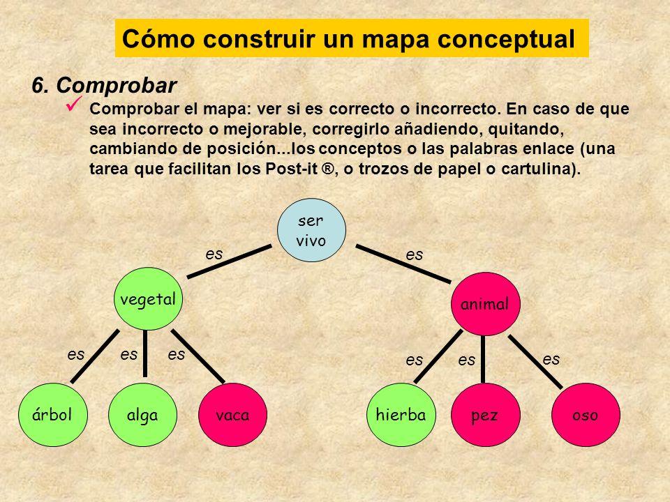 Cómo construir un mapa conceptual osovaca animal hierbapez ser vivo árbolalga vegetal es 7.
