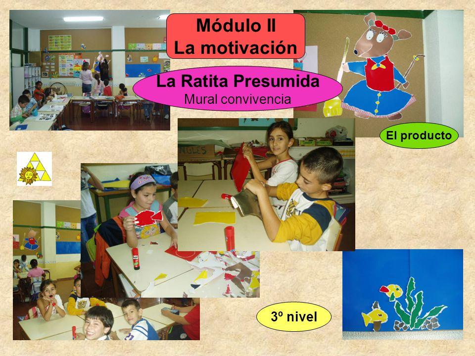 El producto La Ratita Presumida Mural convivencia Módulo II La motivación 3º nivel