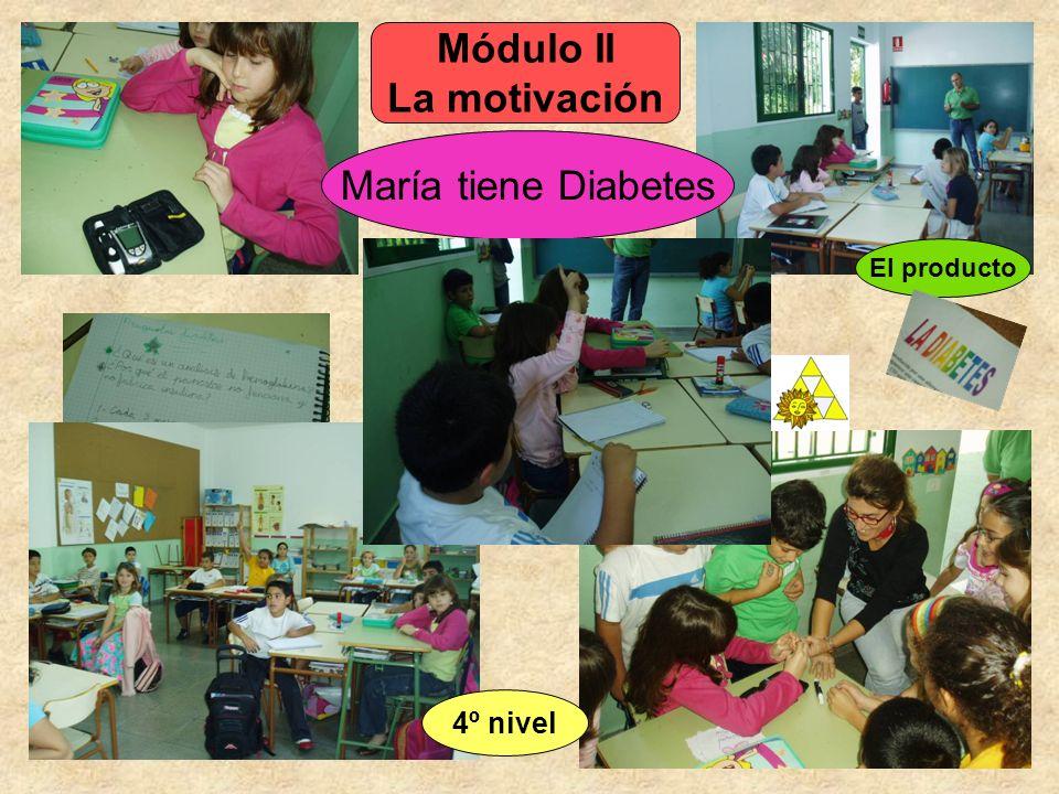 El producto María tiene Diabetes Módulo II La motivación 4º nivel