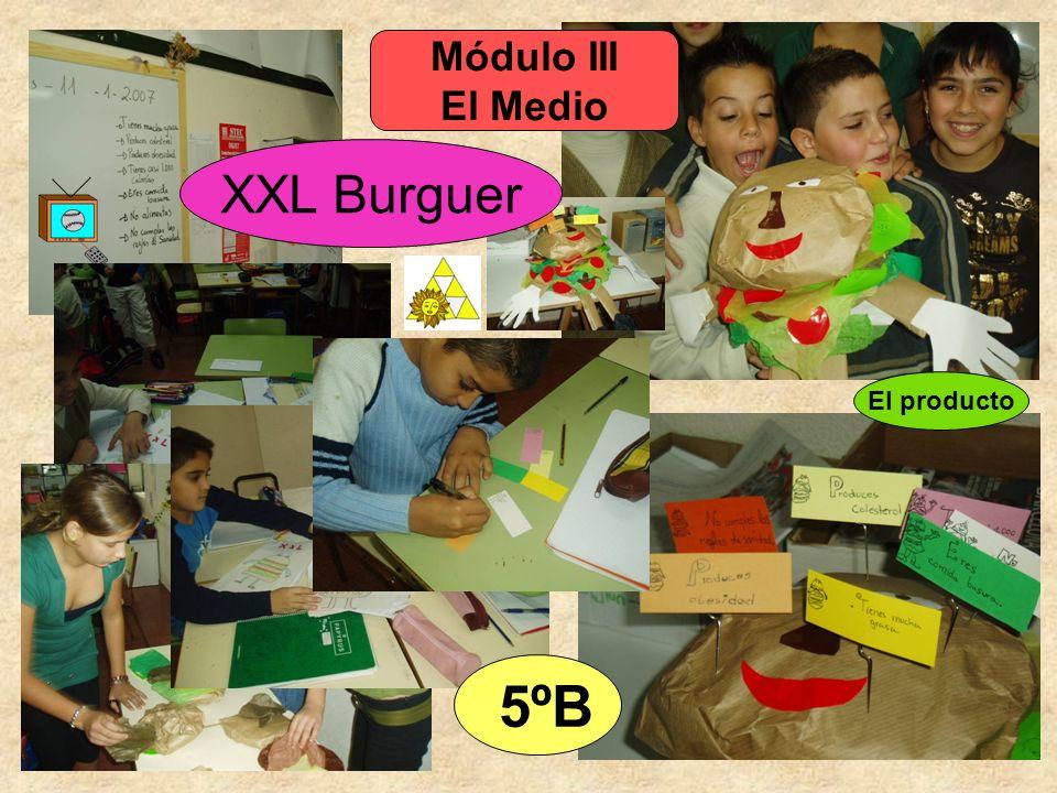 Módulo III El Medio 5ºB XXL Burguer El producto