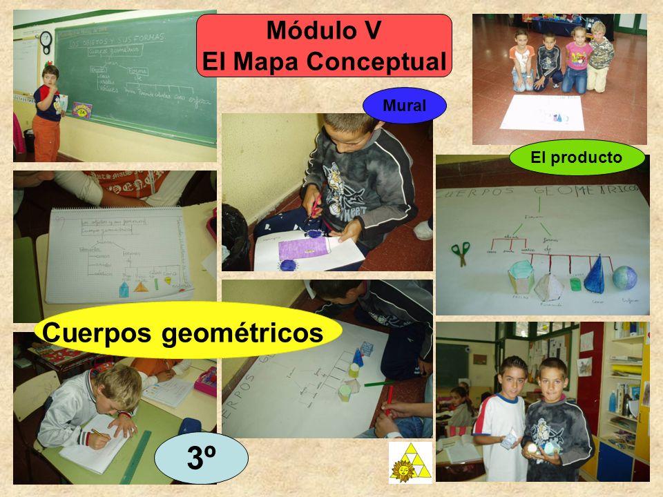 Módulo V El Mapa Conceptual Mural 3º Cuerpos geométricos El producto