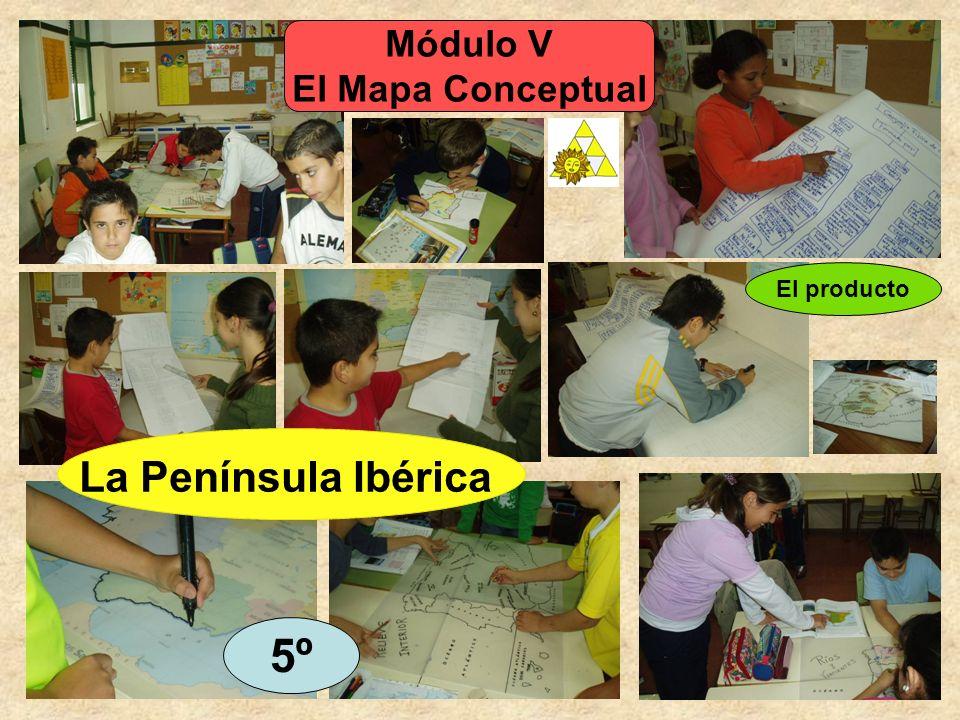 Módulo V El Mapa Conceptual 5º El producto La Península Ibérica