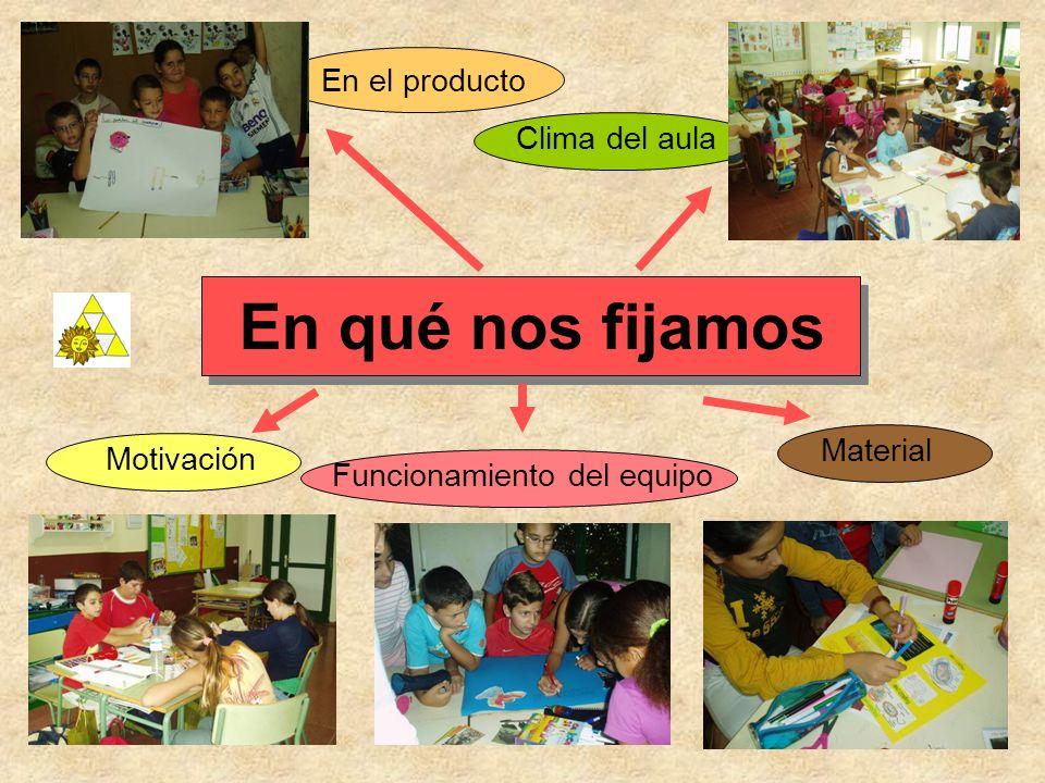 Presentación de los Productos entre el profesorado