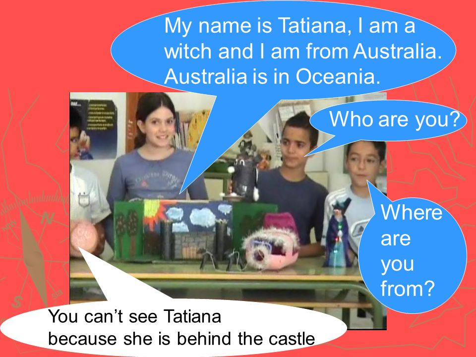 My name is Tatiana, I am a witch and I am from Australia.