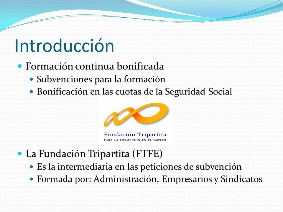 Introducción - Formación en CyL En Castilla y León, año 2009: Empleo: 5,3 puntos por debajo de la media nacional Según la FTFE, un 22,7% de empresas de CyL han participado en actividades formativas
