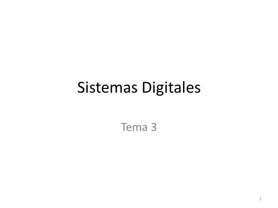 Sistemas Digitales Tema 3 1