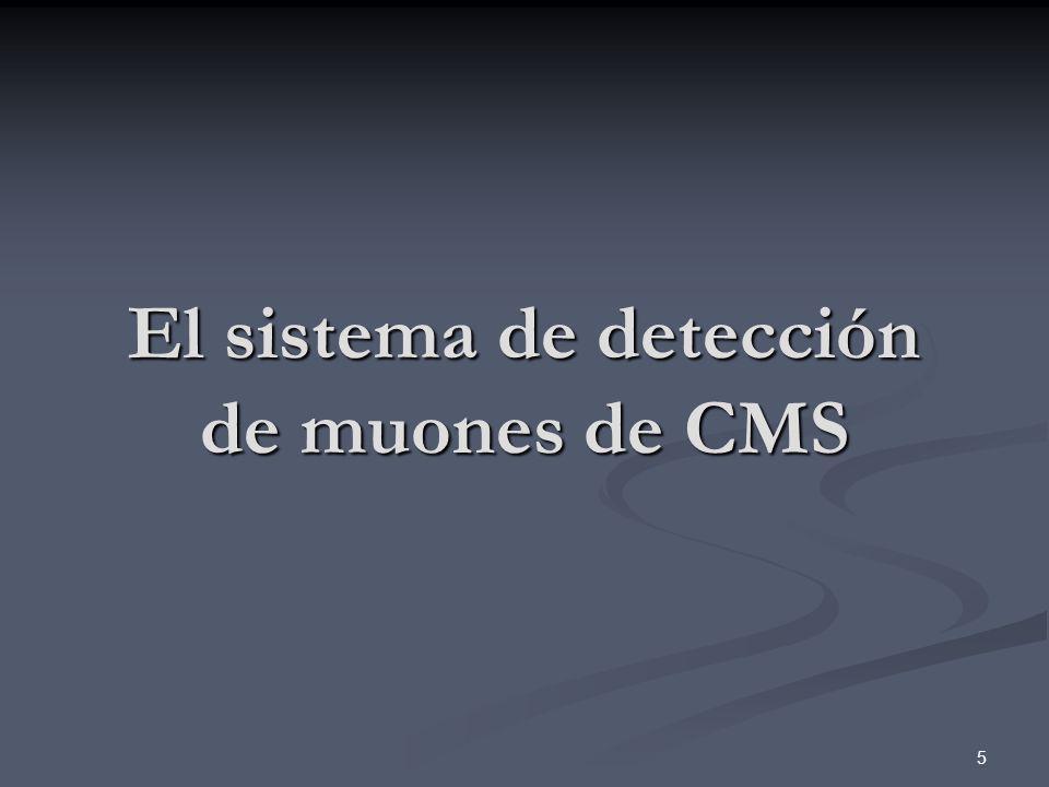 6 Uno de los principales objetivos de diseño de CMS.