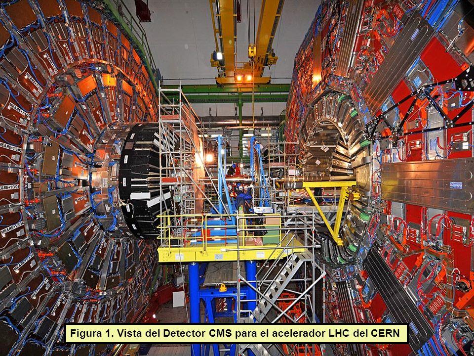 Figura 1. Vista del Detector CMS para el acelerador LHC del CERN