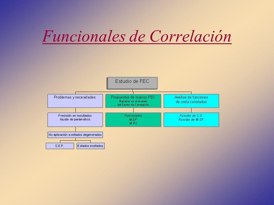 Funcionales de Correlación