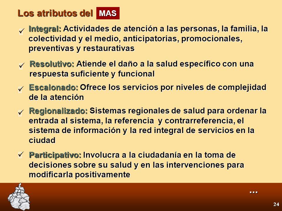 23 3.Modelo de Atención Ampliada a la Salud... MAS