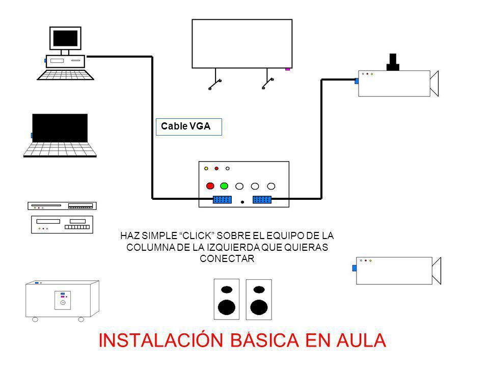Cables RCA (el amarillo lleva la señal de VIDEO) Recuerda seleccionar VIDEO en la caja de conexiones o con el mando a distancia del videoproyector CONEXIÓN VIDEO o DVD o CAMARA o PDA CON VIDEOPROYECTOR DE TECHO CONEXIÓN VIDEO o DVD o CAMARA o PDA CON VIDEOPROYECTOR PORTÁTIL Haz simple CLICK para ver la conexión con VIDEOPROYECTOR PORTÁTIL Cables RCA (el amarillo lleva la señal de VIDEO) Los cables RCA rojo y blanco llevan el AUDIO STEREO (es posible, según el modelo de altavoces, que necesites un adaptador MINI-JACK Hembra a 2 RCA Macho)