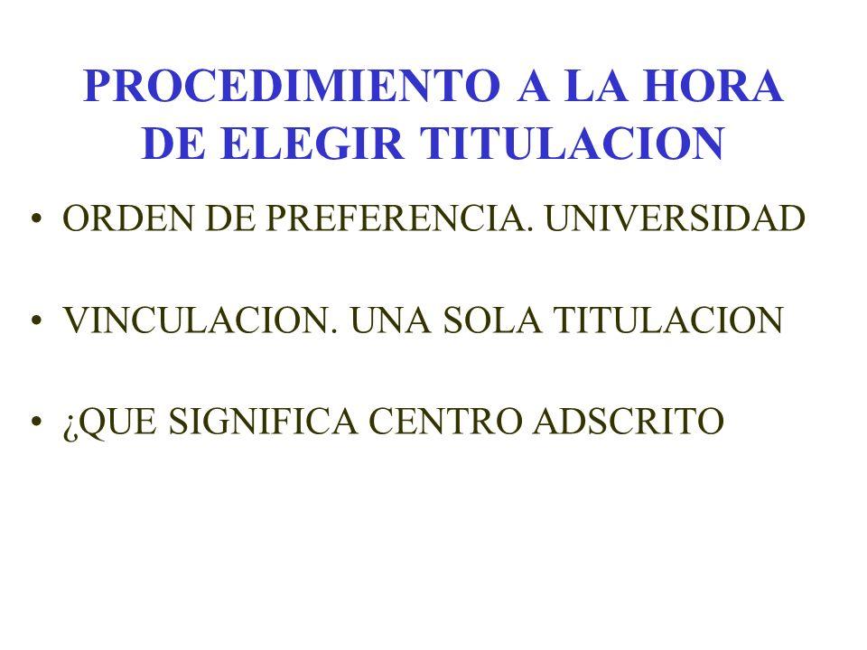 PREINSCRIPCION 2001/2002 1.- LA PREINSCRIPCION ES OBLIGATORIA PARA INICIAR ESTUDIOS EN LAS UNIVERSIDADES ANDALUZAS, EN CUALQUIERA DE LAS TITULACIONES