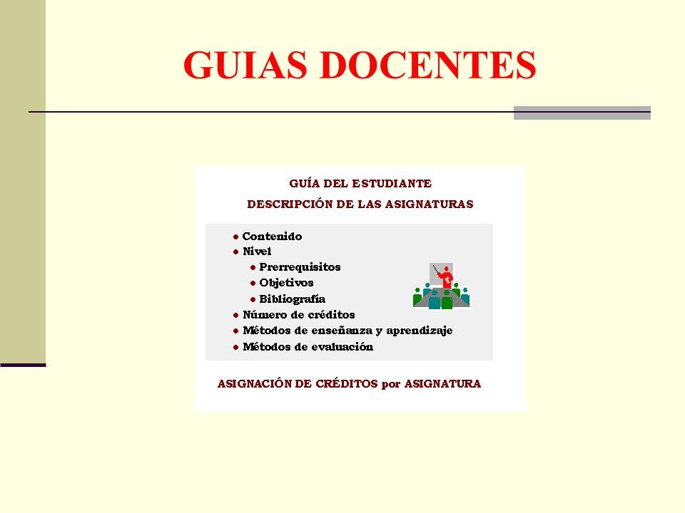 GUIAS DOCENTES