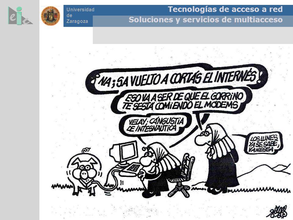 Tecnologías de acceso a red Soluciones y servicios de multiacceso Universidad de Zaragoza