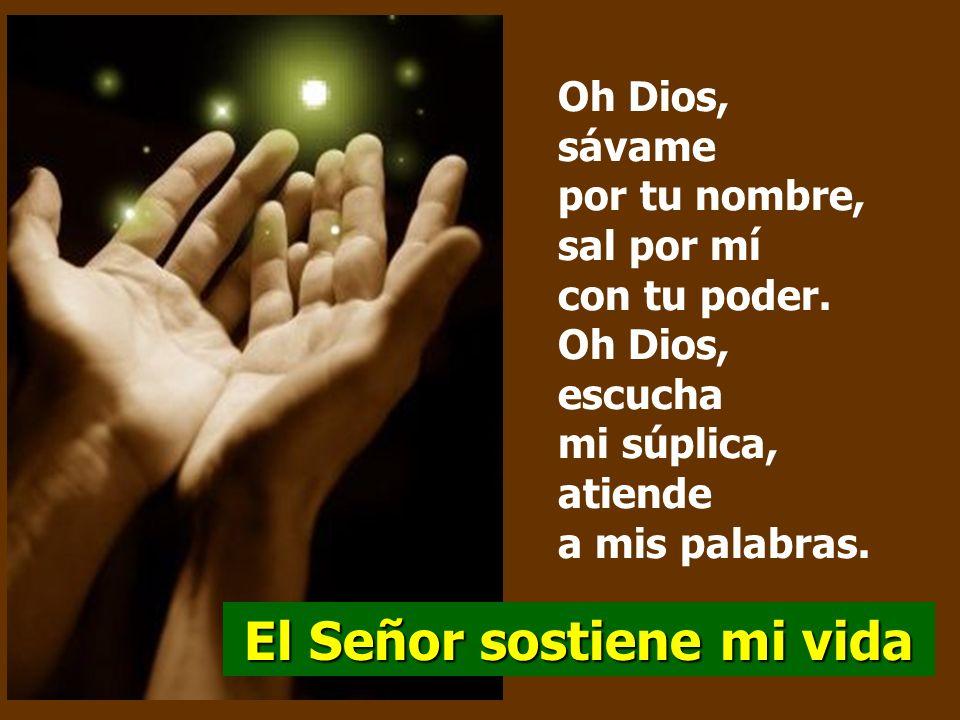 Salmo 53 El Señor sostiene mi vida