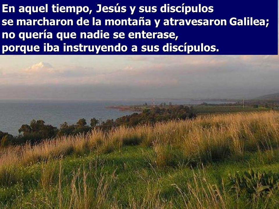 En el Evangelio Jesús hace el 2º Anuncio de la Pasión.