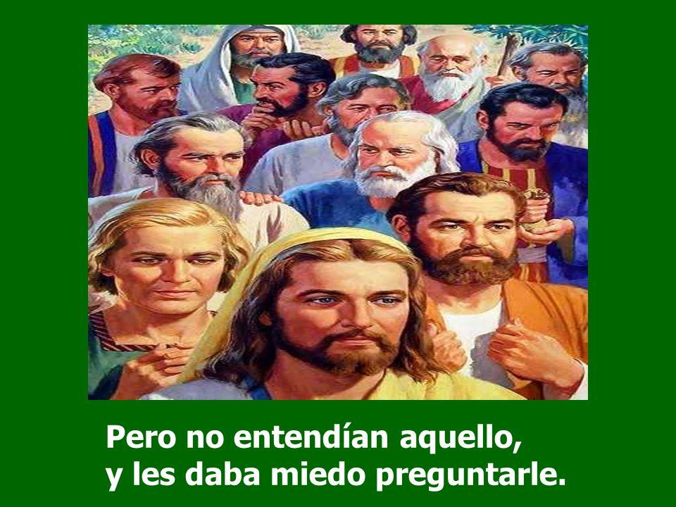 Les decía: El Hijo del hombre va a ser entregado en manos de los hombres, y lo matarán; y, después de muerto, a los tres días resucitará.