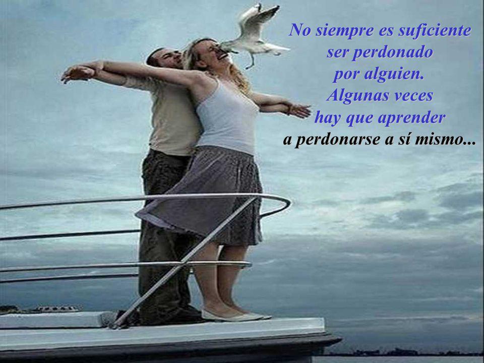 El amor de dos personas enteras es el bien más saludable.
