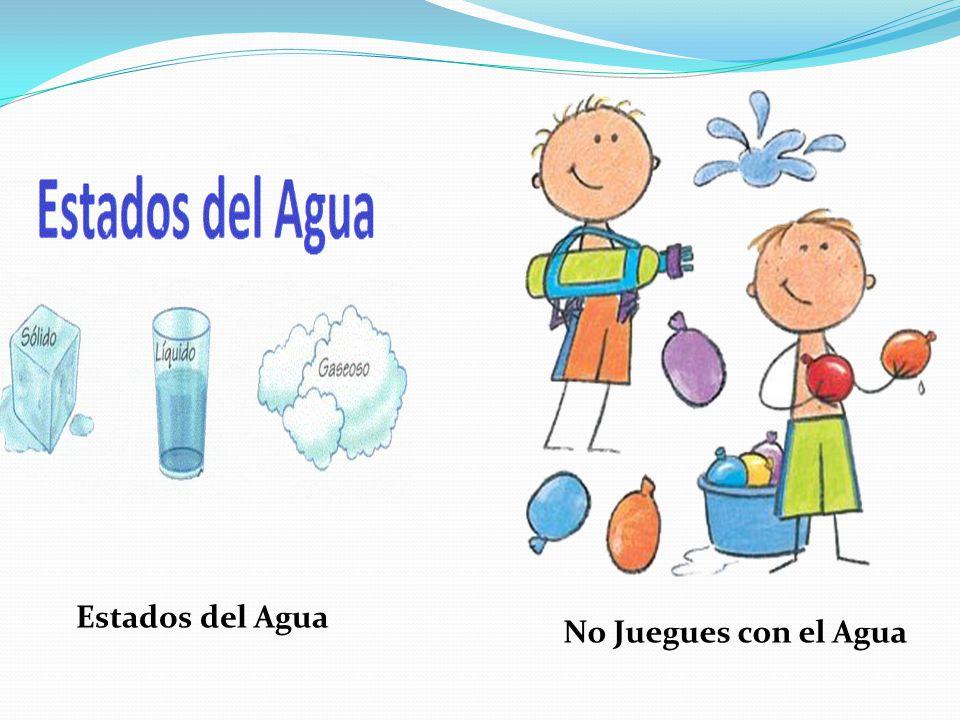 No Juegues con el Agua Estados del Agua
