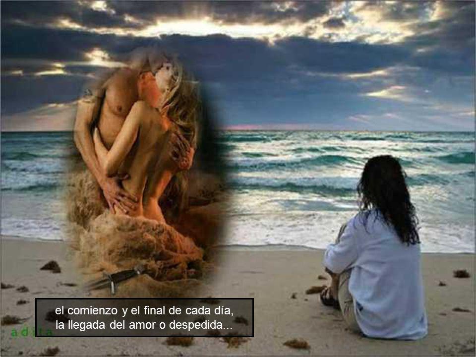 Esos amores son momentos de tristeza y de alegría,