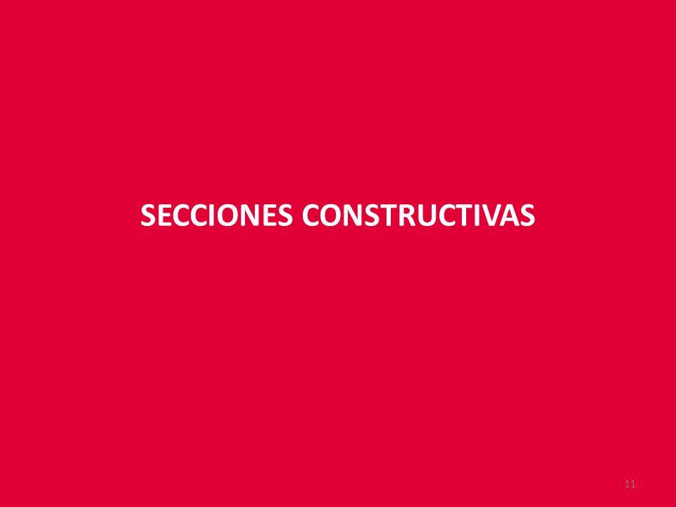 SECCIONES CONSTRUCTIVAS 11