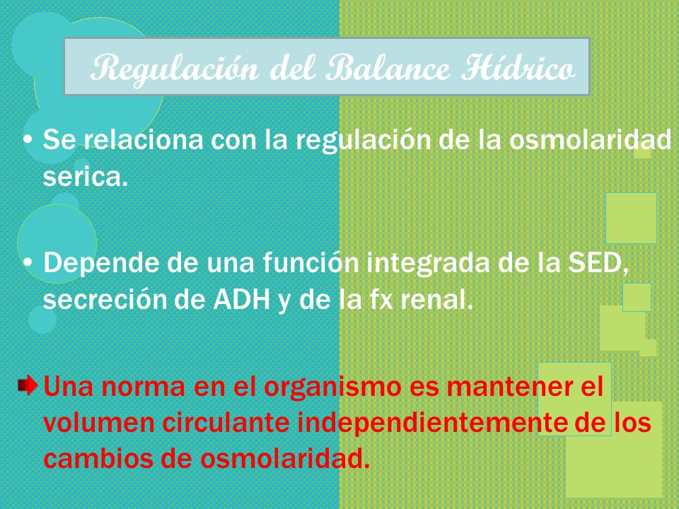 ElectrolitosElectrolitos Intravascular (mEq/ l) Intersticial (mEq/ l) Intracelular Sodio ( Na+) Potasio (K +) Calcio ( Ca + +) Magnesio ( Mg + + Cloro