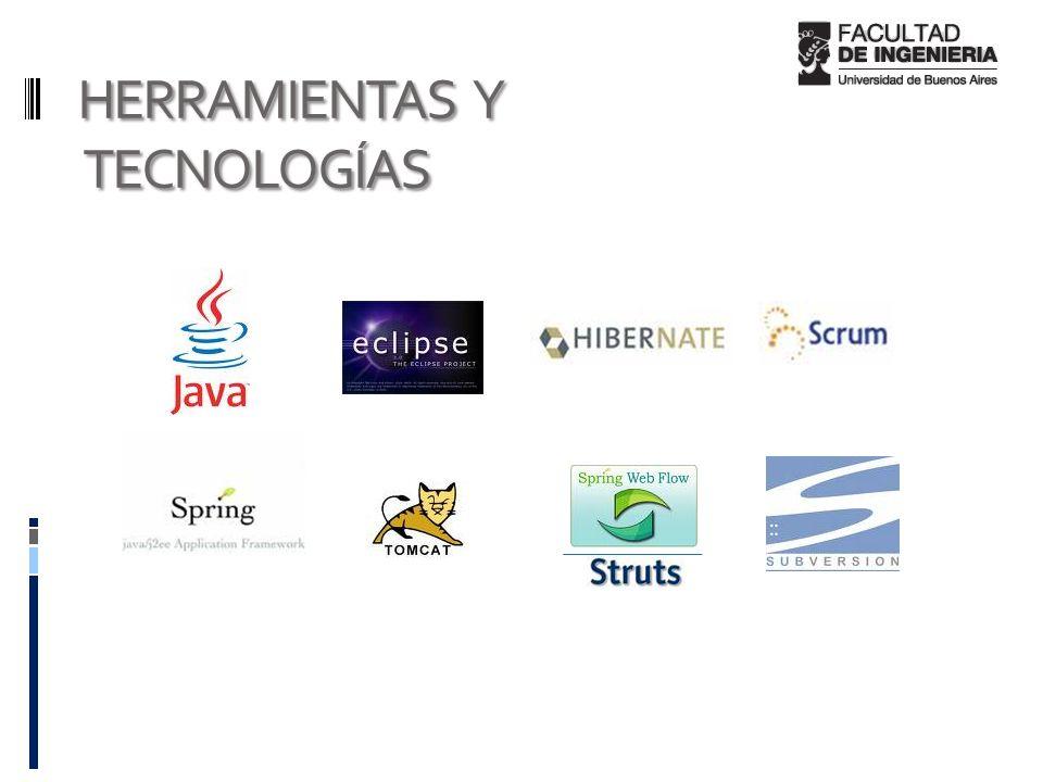 HERRAMIENTAS Y TECNOLOGÍAS