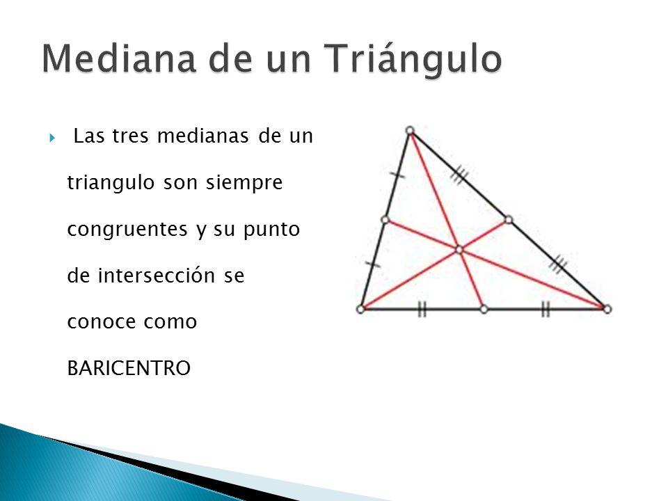  Es el segmento de recta que biseca el ángulo interno y llega hasta el lado opuesto.