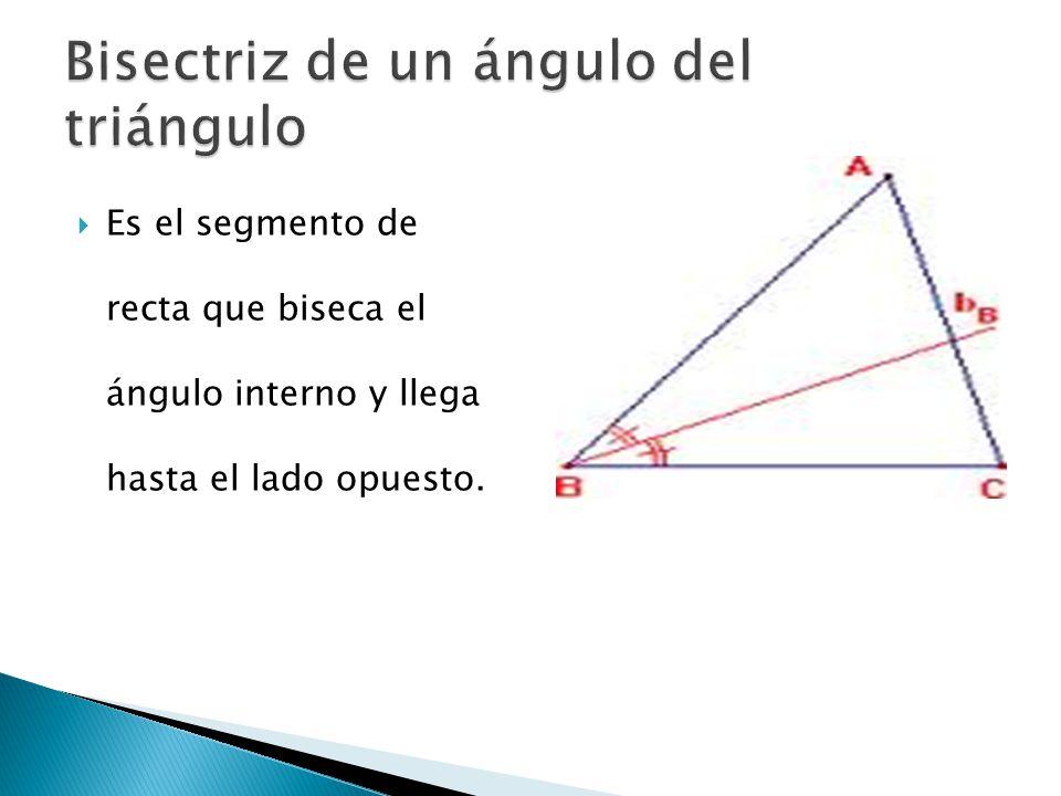  Las bisectrices de un triangulo son siempre congruentes.