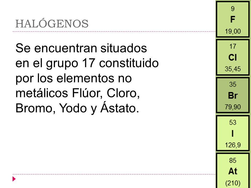 Tabla peridica ixzuli cortes la tabla peridica de los 16 halgenos se encuentran situados en el grupo 17 constituido por los elementos no metlicos flor cloro bromo yodo y stato urtaz Image collections