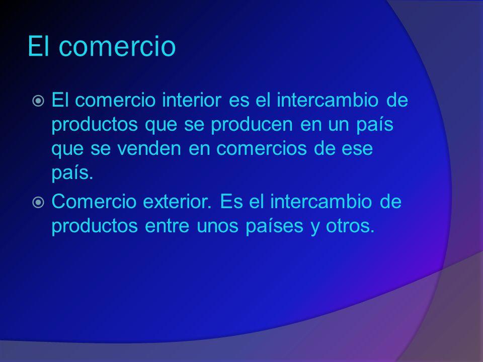 El sector terciario o servicios  Las actividades económicas que no obtienen productos materiales, sino que prestan servicios forman parte del sector terciario o servicios.