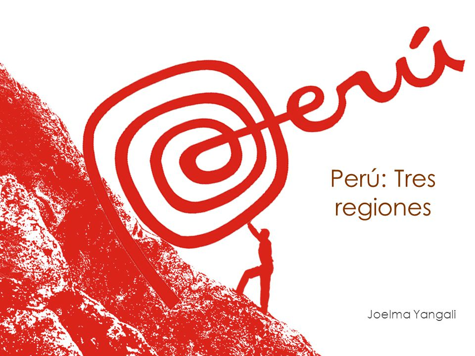 Perú: Tres regiones Joelma Yangali