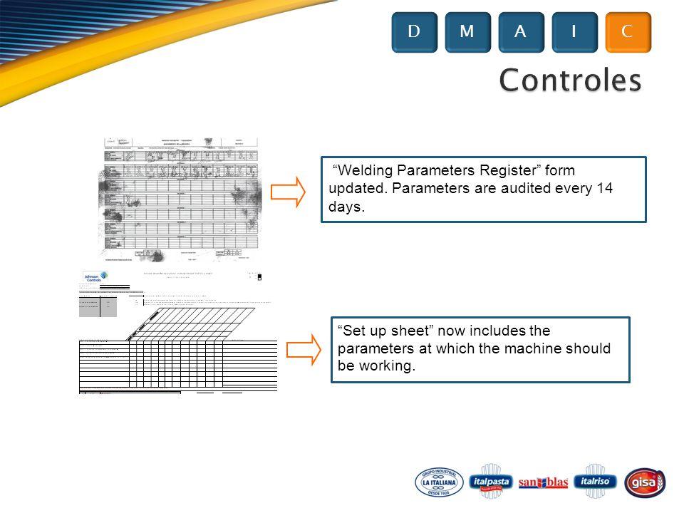 welding parameters