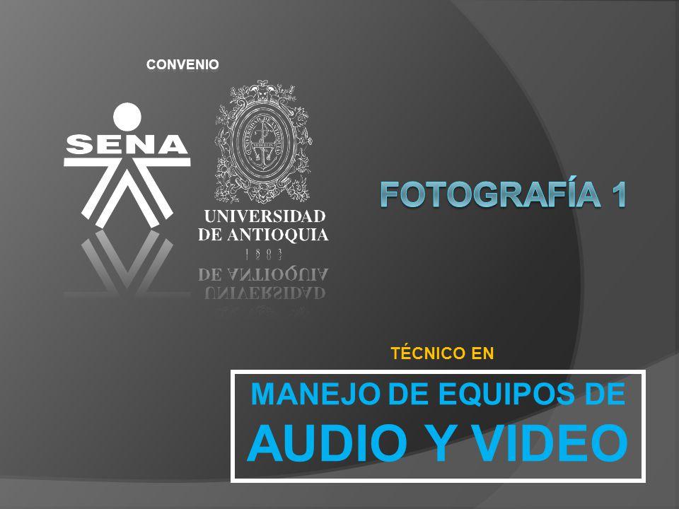 CONVENIO TÉCNICO EN MANEJO DE EQUIPOS DE AUDIO Y VIDEO. - ppt descargar
