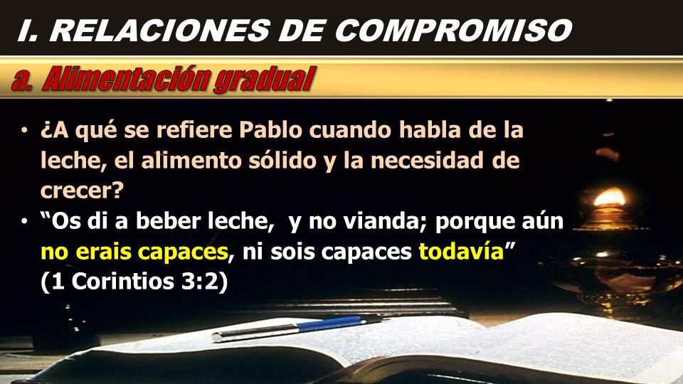 Pablo no predicaría temas profundos mientras la gente no madurara para comprenderlos y responder a ellos.