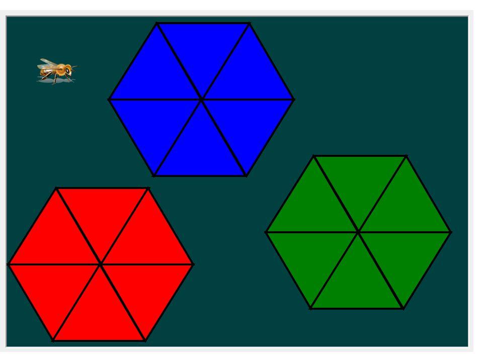 ¿Cuántos hexágonos regulares puedo formar con 6 figuras de esta forma.