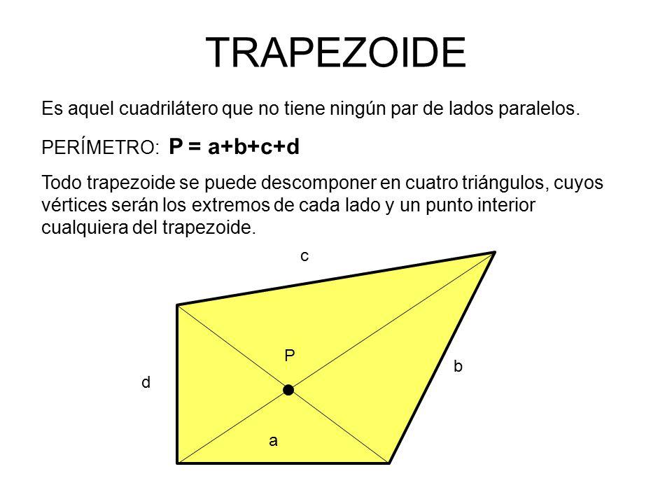 Es aquel cuadrilátero que no tiene ningún par de lados paralelos.