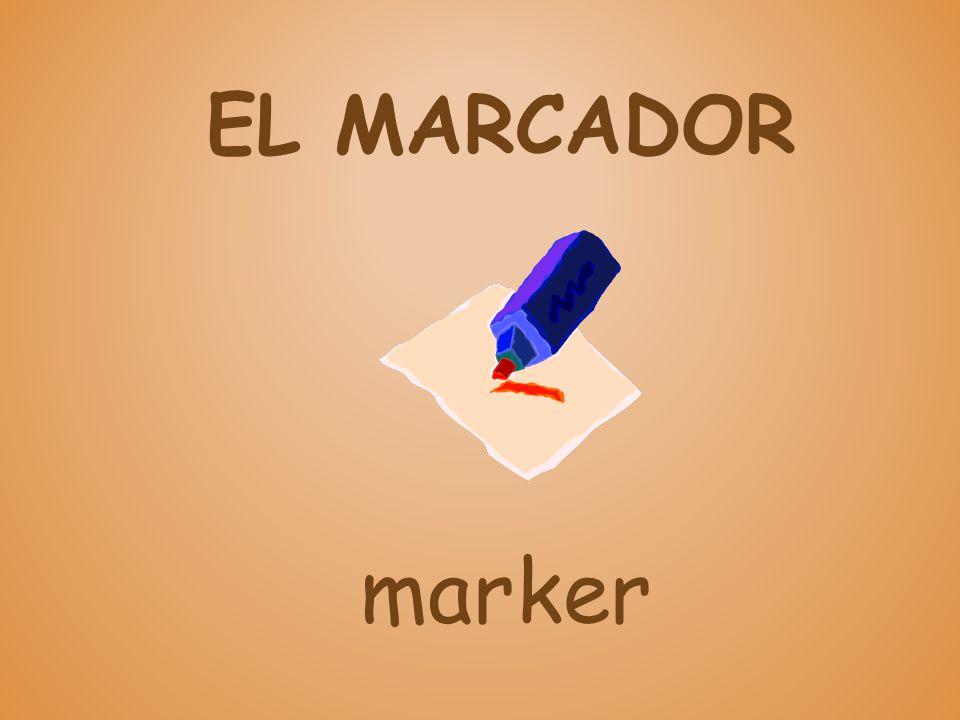 EL MARCADOR marker