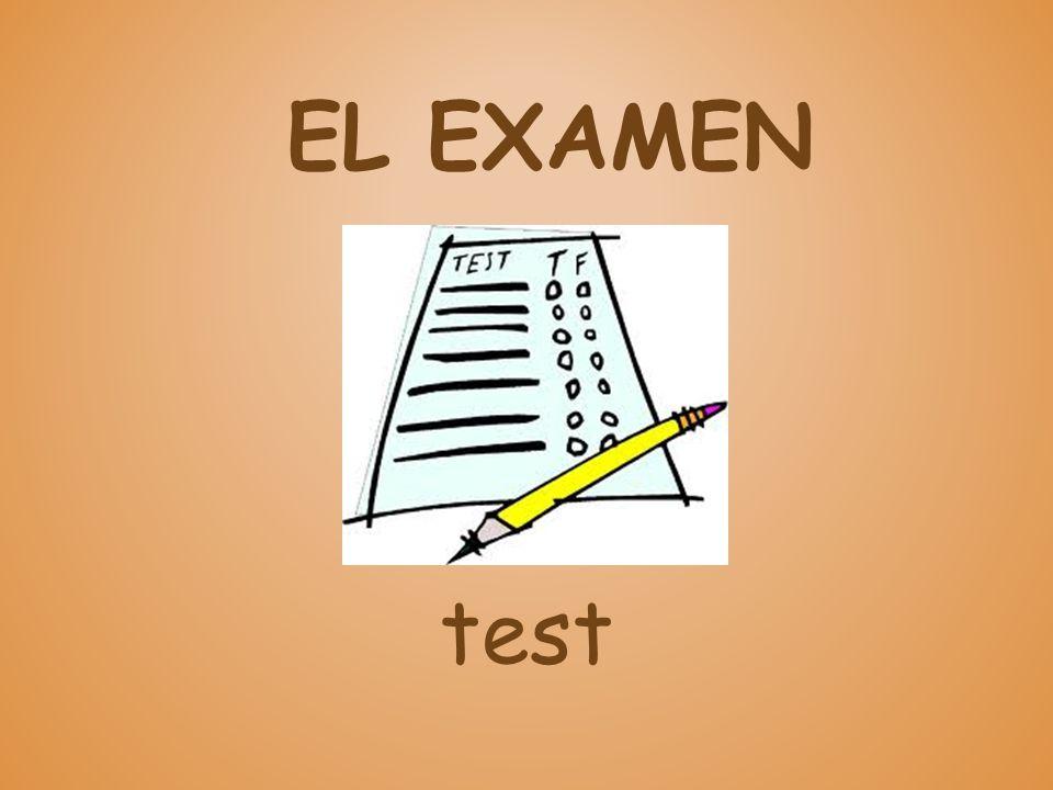 EL EXAMEN test