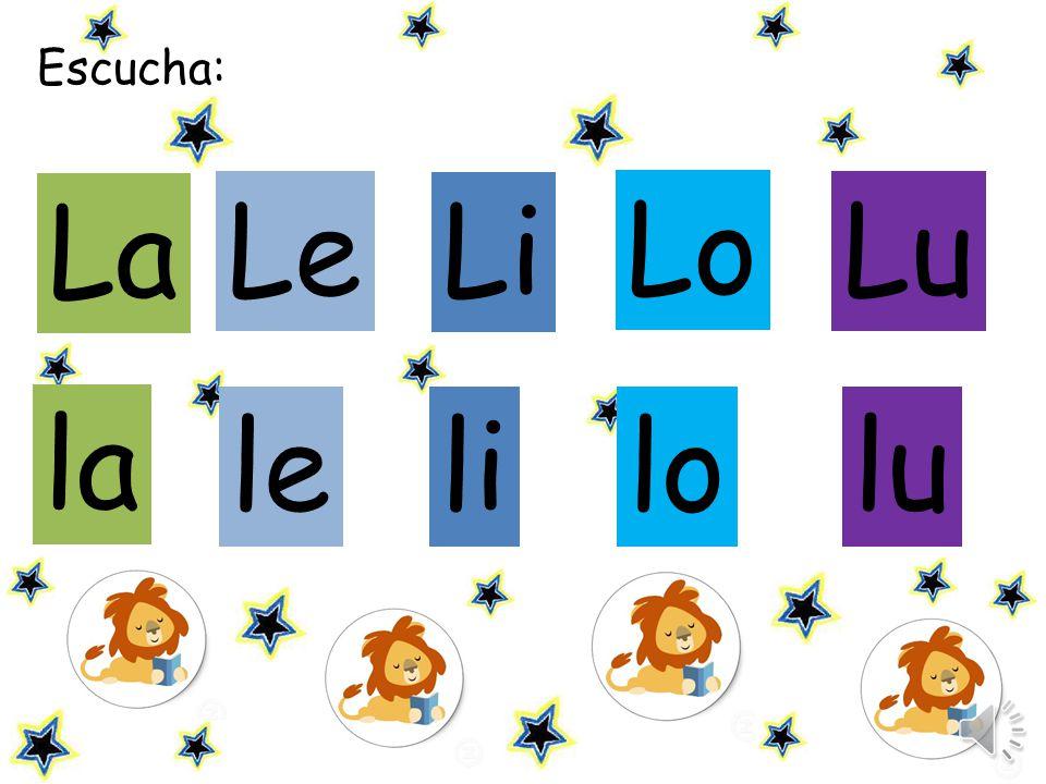 Escucha: Le Li Lu le lilo lu la La Lo