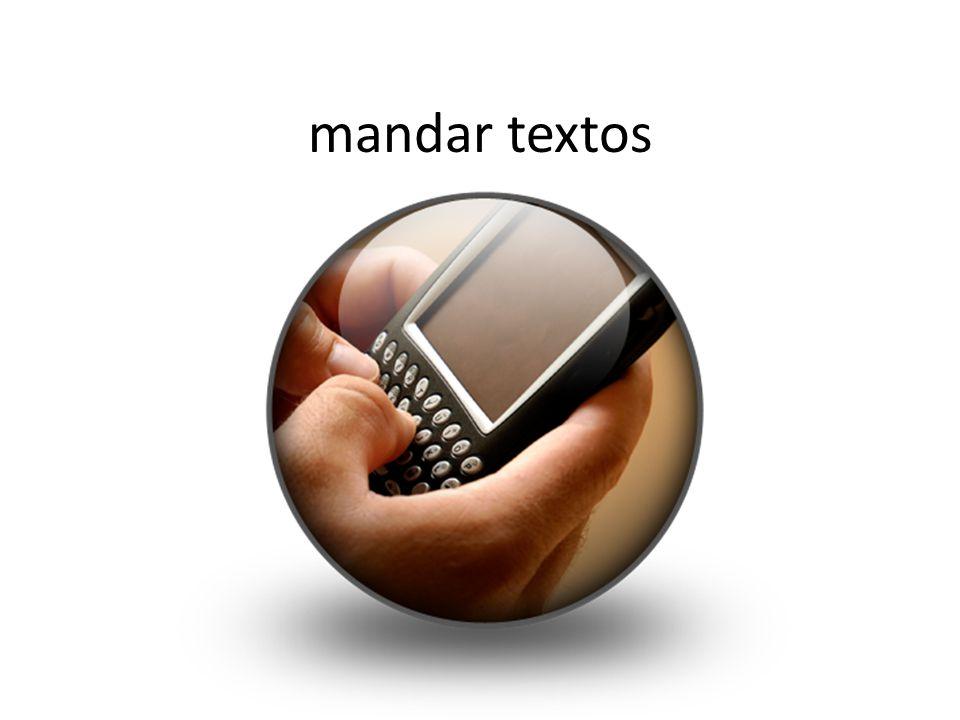 mandar textos