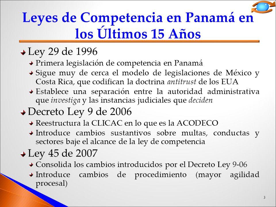 ley 29 de 1996 panama: