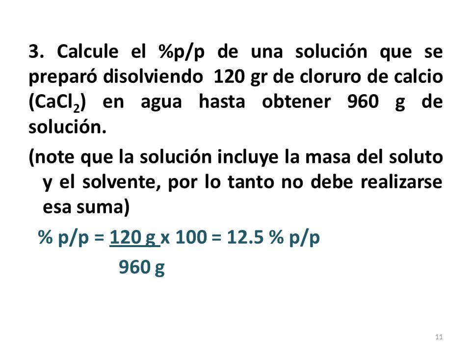 4.¿Cuántos gramos de una solución 4.2 % p/p de urea, contienen 55 gramos de urea .