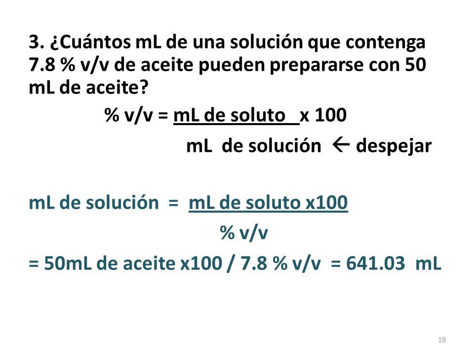 DILUCIONES Se aplica a soluciones líquidas.